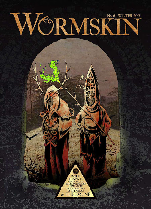 Zine Spotlight: Wormskin Issue 2 to 5