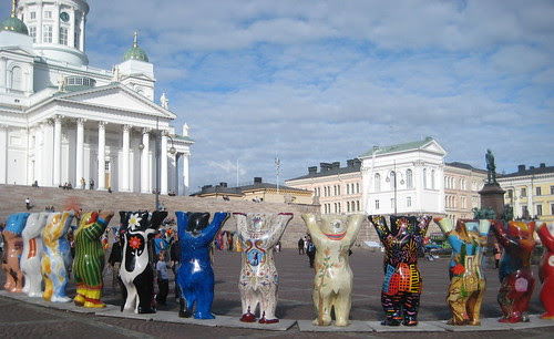 United Buddy Bears in Helsinki in 2010 by Anna Amnell