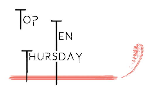 Mein Top Ten Thursday # 5 [Cover mit Tieren]