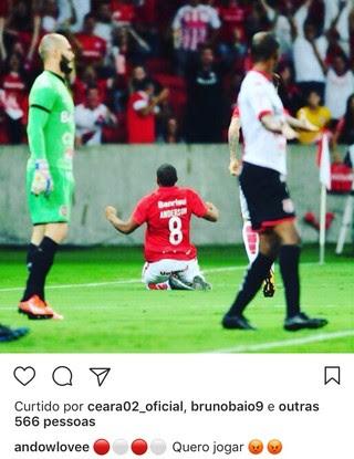 Internacional Inter Anderson Instagram (Foto: Reprodução/Instagram)