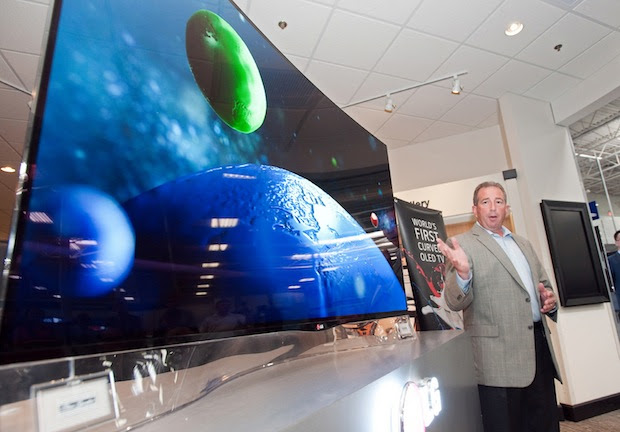 LG's OLED display mass production plant is taking shape, will fire up second half 2014