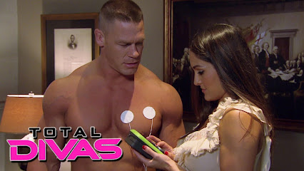 John Cena And Nikki Bella Hall Of Fame 2014
