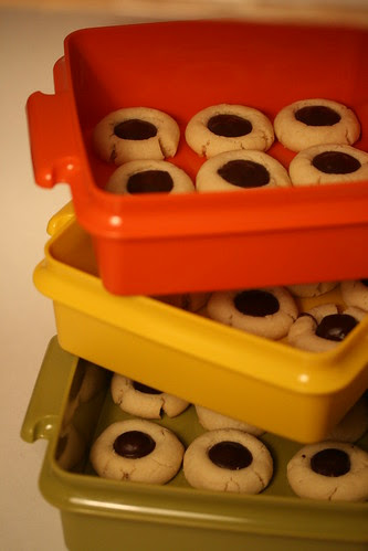 Martha Stewart's Chocolate Thumbprints
