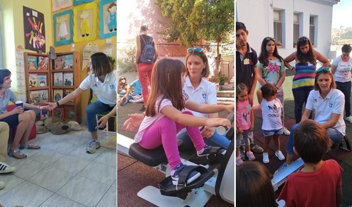 Θεσπρωτία: 1o Νηπιαγωγείο και ΕEΕΕΚ, γιόρτασαν την Πανελλήνια Ημέρα Σχολικού Αθλητισμού με την Ολυμπιονίκη Αλεξάνδρα Τσιάβου