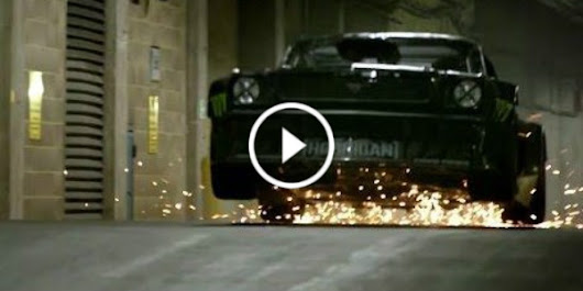 Insane Ken Block London Video! The-King-Of-Sideways Is Taking Matt Le Blanc On One Crazy Drifting Ride! - Muscle Cars Zone!