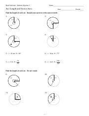 Trig Ratios of General Angles - Kuta Software - Infinite Algebra 2 ...