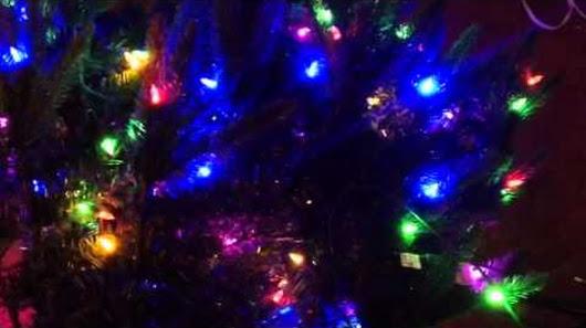 santas best pre lit christmas tree going haywire - Santas Best Christmas Trees