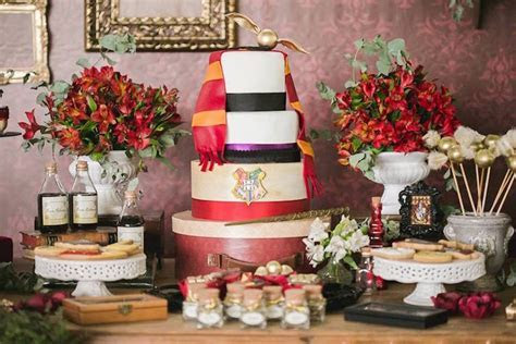 How to create a magical Harry Potter wedding theme   Love
