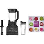 Ninja Chef Blender Mixer Processor Duo w/ Single Serve Cup w/ 100 Recipe Book