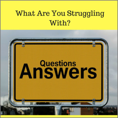 What Are You Struggling With? - 1 December 2016 - MTBM Blog - Money To Be Made