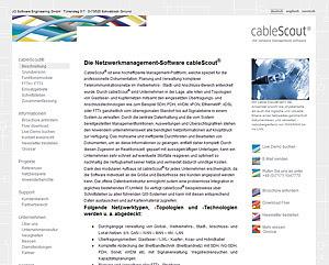 Inhaltlicher Ausbau von JO Software Engineering GmbH www.josoftware.de durch Webdesign-Agentur designbetrieb aus Essen