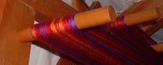 Nancy's silk warp3 Oct 2006