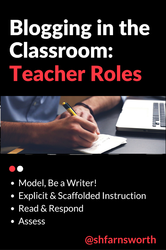 Blogging in the Classroom: Teacher Roles
