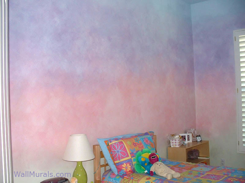 Faux Wall Finishes - Examples of Hand-Painted Wall Treatments