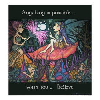 Anything is Possible Poster/Print print