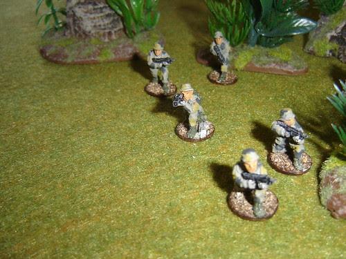 1st Fire Team - Sakhan Light Infantry