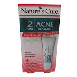 Natures Cure Two-Part Womens Acne Treatment - 1 Kit