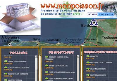 pescadería on-line B2C