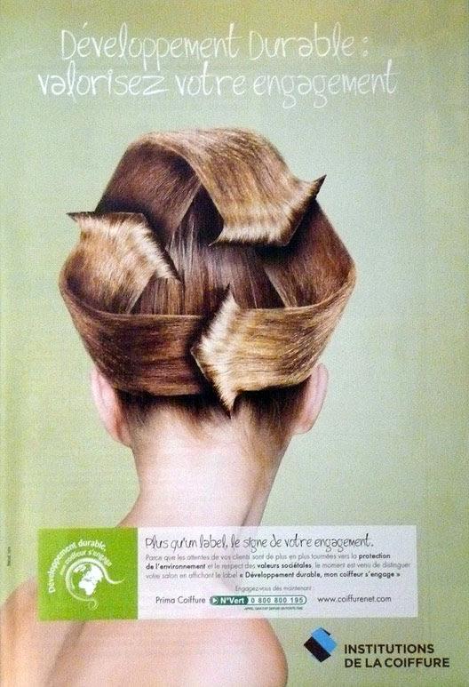 """Développement durable """"mon coiffeur s'engage"""" - Article Les Mousquetettes"""