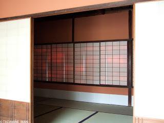 The sensitivity of lightness, at Sento Gosho, in Kyoto