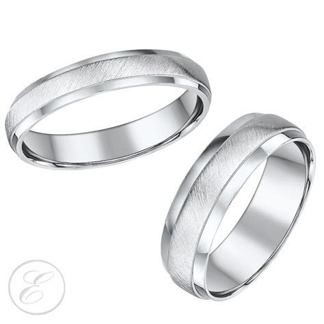 Lovely His and Hers Wedding Rings Uk   Matvuk.Com