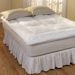 RESTFUL NIGHTS DOWN ALTERNATIVE FIBER BED Twin, Full,Queen or King - KING White