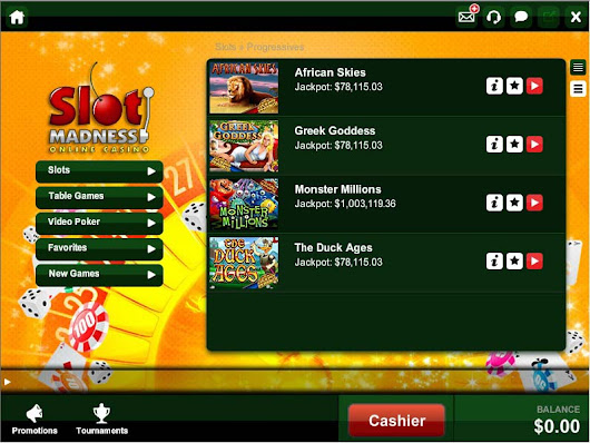 Slot Madness Online Casino Review