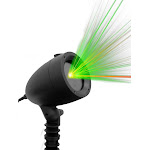 Startastic Laser Projector - Red & Green Static