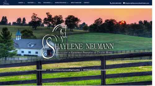 Elegant Equestrian Design - Shaylene Neumann - Real Estate Websites, Real Estate Web Design, Custom Websites, Custom Maps