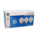 GE Light Bulbs - Clear - 43W - 3 pack