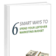 How to spend your leftover marketing budget