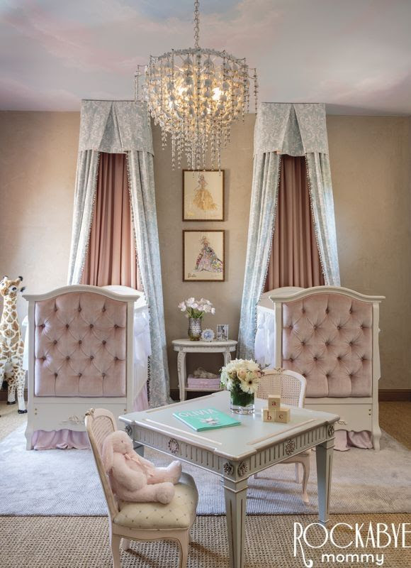 Elegant Twin Nursery Bedroom Pictures, Photos, and Images ...