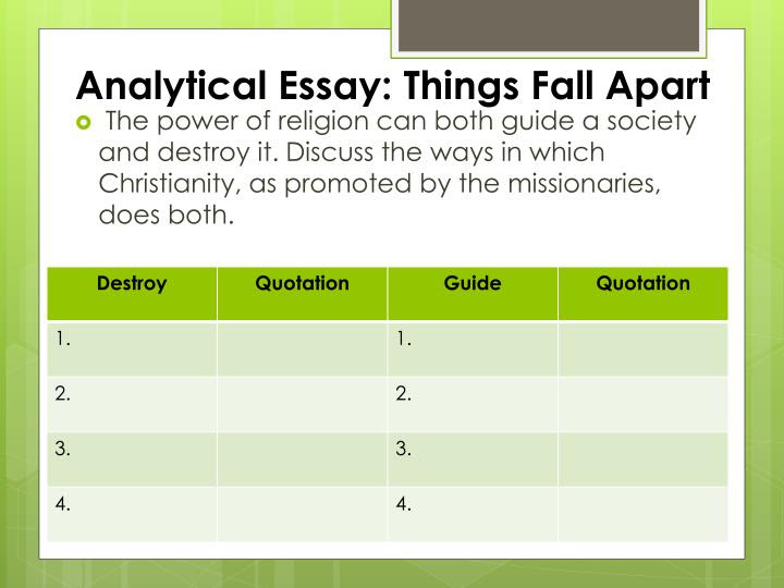 About The Site American Freethought Essay On Things Fall Apart By