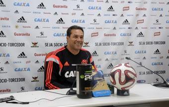 Luxemburgo coletiva Flamengo (Foto: Fred Gomes)