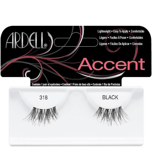 Ardell Accents Lashes, Black 318