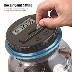 Piggy Bank Counter Coin Electronic Digital Lcd Counting Coin Money Saving Box - Jar Coins Storage Box For Usd Euro GBP Money