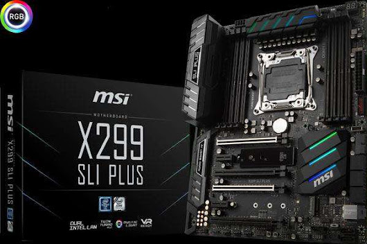 MSI X299 chipset for ultimate gaming performance | Webllena