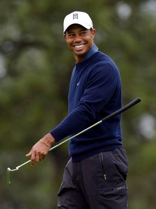 Tiger at Torrey on Friday