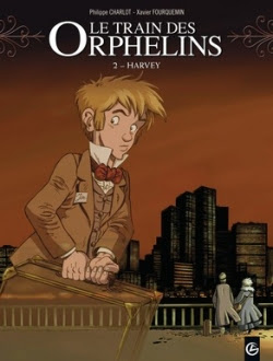 Couverture Le train des orphelins, tome 2 : Harvey