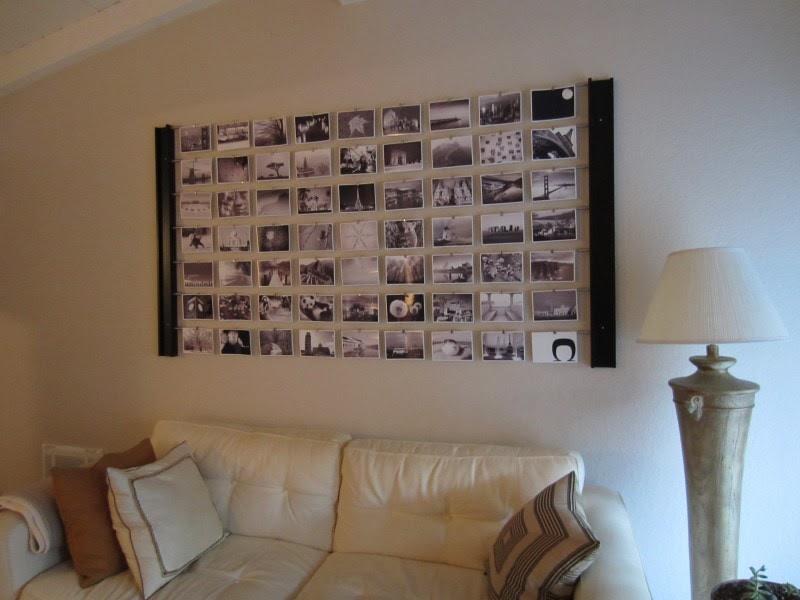 DIY Photo Wall Décor Idea- DIYInspired.com