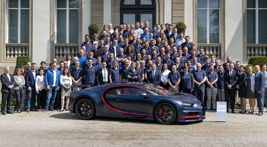 Bugatti Chiron Cannot Be the Fastest Car in The World, Officially - Motoraty