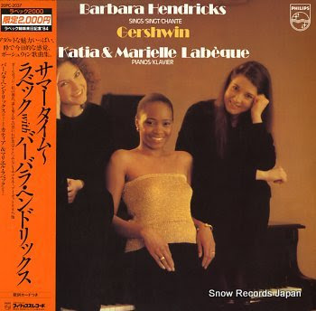 HENDRICKS, BARBARA / KATIA & MARIELLE LABEQUE gershwin, george