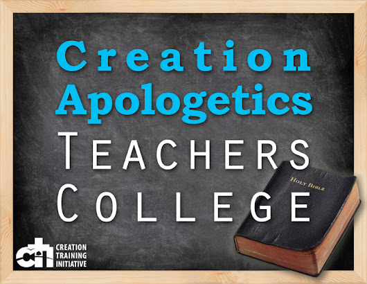 Creation Apologetics Teachers College, Scholarship | Mike Riddle, CTI, Creation, Evolution, Apologetics