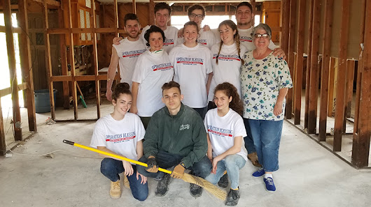 Spring for Service: Twenty St. Joseph's College Students Spend Spring Break in Houston, Helping People Still Suffering From Damage Wreaked by Hurricane Harvey Last August