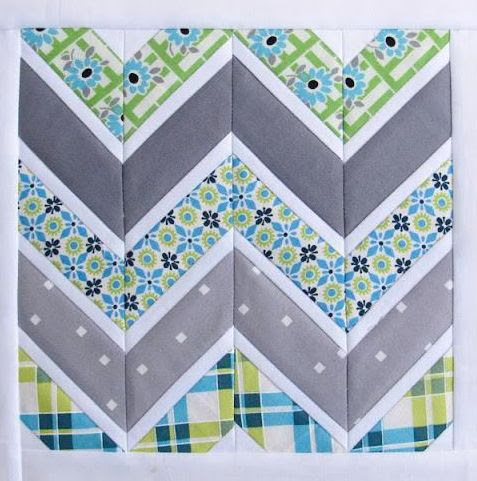 Modern Quilts Patterns | Free Pattern Friday Quilting: Free Chevron Quilt Pattern & More