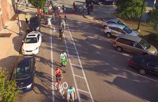 Macon, Georgia, Striped a Good Network of Temporary Bike Lanes and Cycling Soared