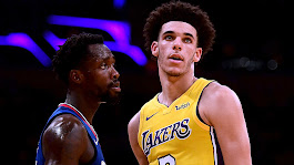 FOR FRI AM Lonzo, LaVar hear it from Patrick Beverley in Lakers' opener: Welcome to the NBA, Ballers | NBA | Sporting News