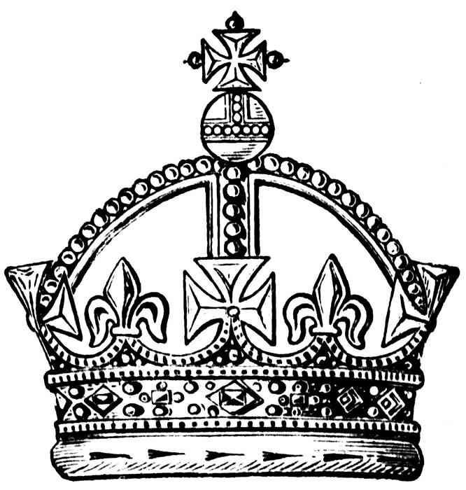 Queens Crown Drawing At Getdrawingscom Free For Personal Use