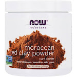 NOW Foods NOW Solutions Moroccan Red Clay Powder 6 oz.