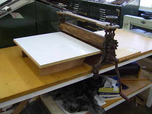 mangle printing